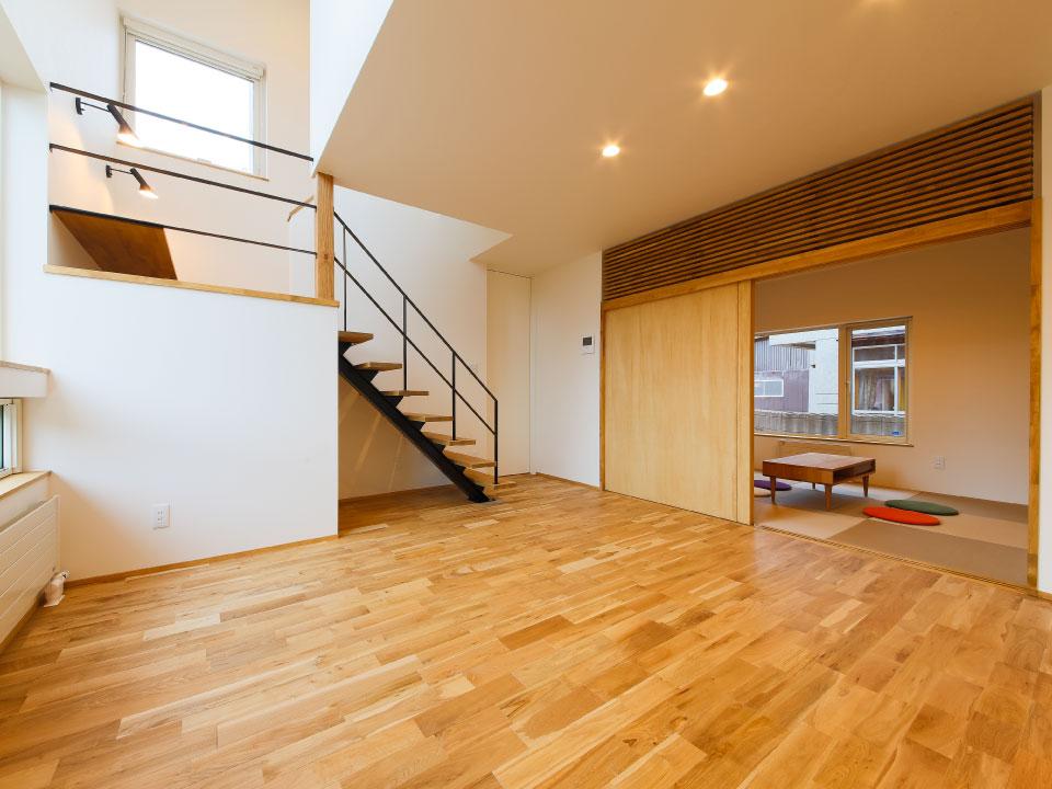 階段というコミュニティスペース