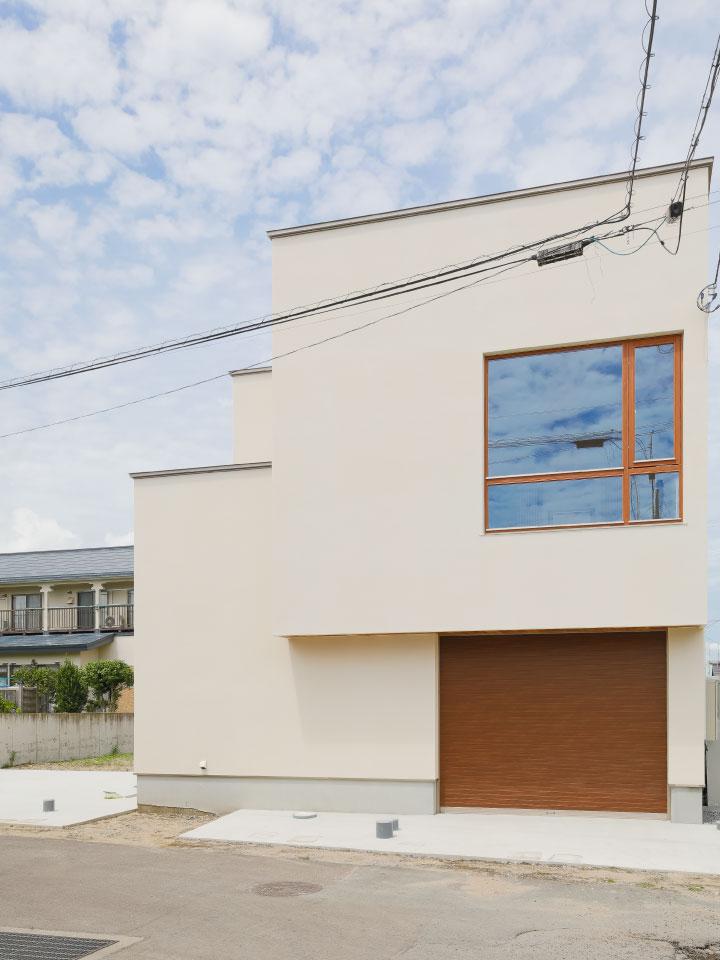 回遊する動線の家