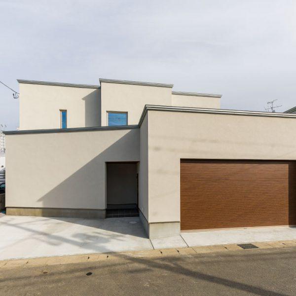 立方体の家(フルオープンハウス)